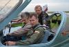 Готовим к вылету главу семейства. За штурвалом самолета пилот АУЦ Игорь Клименченко.