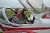 Готовимся к взлету вместе с летчиком-инструктором АУЦ Василием Васильевичем Хромовым.
