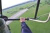 Над остатками аэродрома Монино